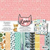 Набор бумаги для скрапбукинга «Моя котя»