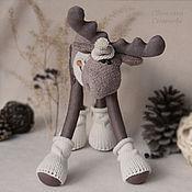 Куклы и игрушки ручной работы. Ярмарка Мастеров - ручная работа Лосик Кофейный. Интерьерная игрушка. Handmade.