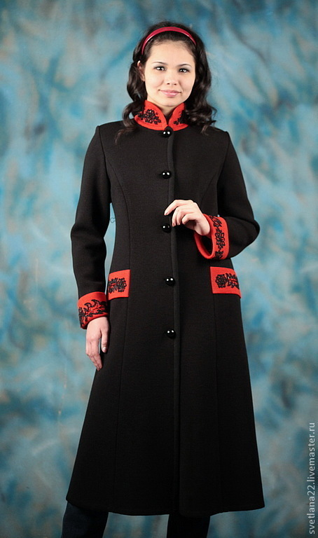 """Knitted coat """"Trendy vintage-2"""", Outer Clothing handmade, Pavlodar, Фото №1"""