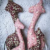 """Куклы и игрушки ручной работы. Ярмарка Мастеров - ручная работа Интерьерная игрушка """"Семья жирафов"""". Handmade."""