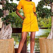 """Одежда ручной работы. Ярмарка Мастеров - ручная работа NEW! Платье """"Sahara"""" лимонный. Handmade."""