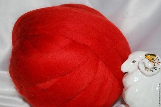 Австралийский топс меринос 18 мкм №202 оранжевый