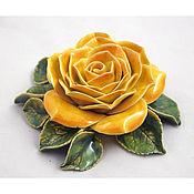 Для дома и интерьера handmade. Livemaster - original item Ceramic rose for the interior of a large. Handmade.