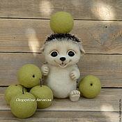 Куклы и игрушки ручной работы. Ярмарка Мастеров - ручная работа Ежик валяный Кузька. Handmade.