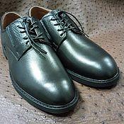 Обувь ручной работы handmade. Livemaster - original item Classic men`s shoes, genuine leather, handmade.. Handmade.