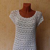 """Одежда ручной работы. Ярмарка Мастеров - ручная работа платье ажурное """"белоснежные лилии"""". Handmade."""