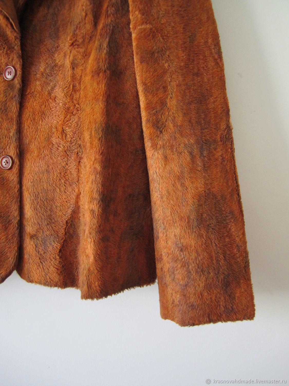 Винтаж: Меховой жакет от Dothes, 48 р, Одежда винтажная, Рязань,  Фото №1