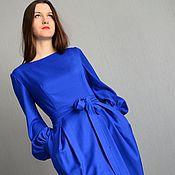 """Одежда ручной работы. Ярмарка Мастеров - ручная работа Платье для зимы """"L`uccellino azzurro"""". Handmade."""