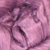 Материалы для творчества ручной работы. Ярмарка Мастеров - ручная работа Шелк Тусса. Цвет Виолетта (Violet). Handmade.