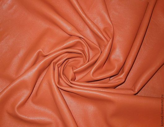 Шитье ручной работы. Ярмарка Мастеров - ручная работа. Купить Апельсин. Тонкая, мягкая кожа. Овчина.. Handmade. Оранжевый