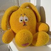 Куклы и игрушки ручной работы. Ярмарка Мастеров - ручная работа Заяц-обнимаец. Handmade.
