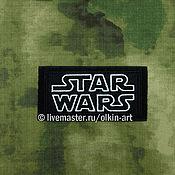 Материалы для творчества ручной работы. Ярмарка Мастеров - ручная работа STAR WARS (прямоугольник). Handmade.