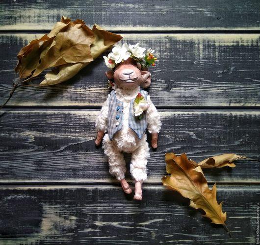 Коллекционные куклы ручной работы. Ярмарка Мастеров - ручная работа. Купить Кукла ручной работы Барашек. Handmade. коллекционная кукла