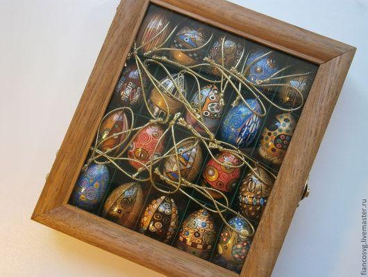 Набор из 20-ти яиц в стиле Г.Климт.