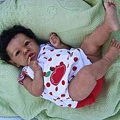 Куклы и игрушки ручной работы. Ярмарка Мастеров - ручная работа малыш reborn baby doll Саския. Handmade.