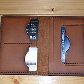 handmade. Livemaster - original item Passport cover leather. Handmade.