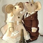 Куклы и игрушки ручной работы. Ярмарка Мастеров - ручная работа Свадьба в провансе). Handmade.