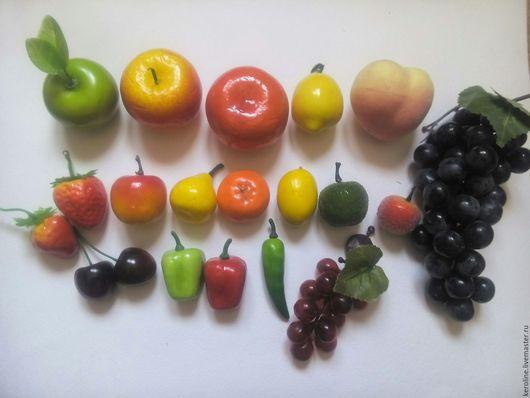 Материалы для флористики ручной работы. Ярмарка Мастеров - ручная работа. Купить искусственные фрукты, фрукты. Handmade. Искусственные фрукты, лимон