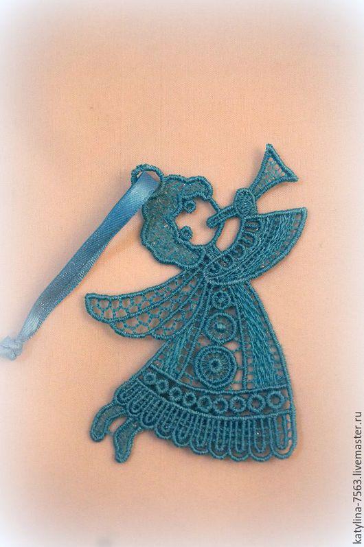 Подвески ручной работы. Ярмарка Мастеров - ручная работа. Купить Ажурная вышивка. Handmade. Комбинированный, ангел, ангелочки, Машинная вышивка