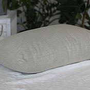 Для дома и интерьера handmade. Livemaster - original item PILLOW WITH LINEN FILLING 50h70cm for sweet dreams. Handmade.