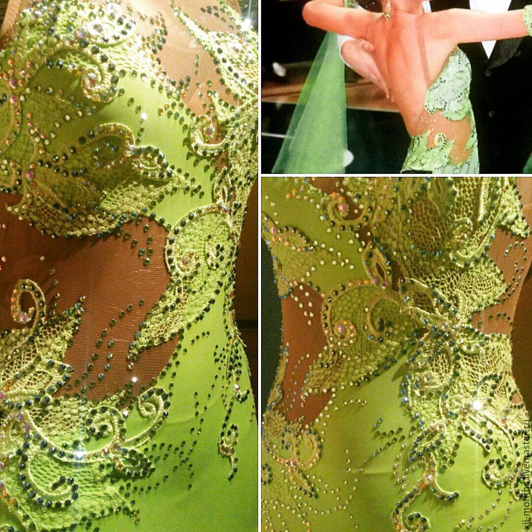 Мастер класс по пошиву платья для бальных танцев