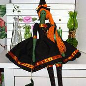 Куклы и игрушки handmade. Livemaster - original item Doll tilde witch Brunhilde handmade. Handmade.