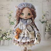 Куклы и игрушки ручной работы. Ярмарка Мастеров - ручная работа Дина(повтор). Handmade.