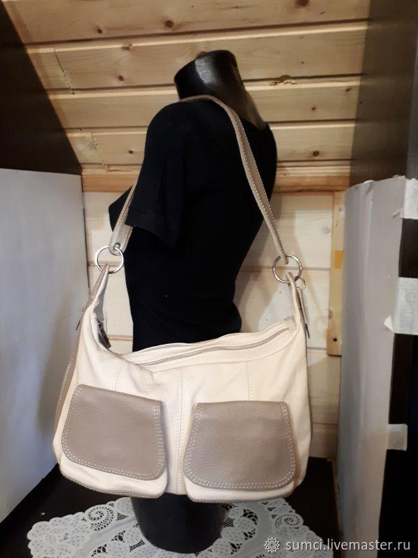 Сумка кожаная, Классическая сумка, Звенигород,  Фото №1