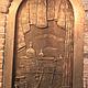 Декор поверхностей ручной работы. дверь. металлизирование. sida1967 (stylecomf1967). Интернет-магазин Ярмарка Мастеров. Бронза, барельеф, бронза