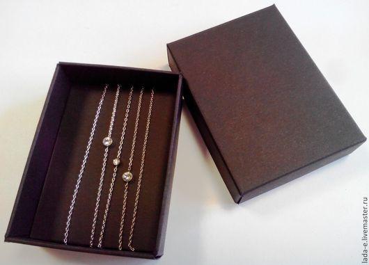 Подарочная упаковка ручной работы. Ярмарка Мастеров - ручная работа. Купить Коробочка для бижутерии или сувениров. Handmade. Черный, коробка
