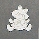 Новый год 2017 ручной работы. Елочные игрушки с контурами. Заготовки.. Константинова Алла. Интернет-магазин Ярмарка Мастеров. Елочные игрушки
