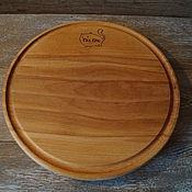 Для дома и интерьера ручной работы. Ярмарка Мастеров - ручная работа Доска для подачи блюда из массива. Handmade.