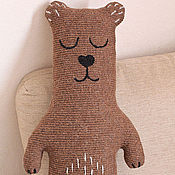Для дома и интерьера handmade. Livemaster - original item Interior soft toy Sleepy Bear. Handmade.
