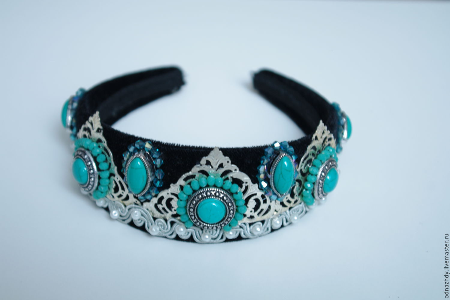 Hair band 'Cleo' in the style of Dolce & Gabbana, Headband, Moscow,  Фото №1