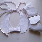 Аксессуары handmade. Livemaster - original item Accessory kit universal cotton white. Handmade.