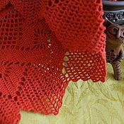 Для дома и интерьера ручной работы. Ярмарка Мастеров - ручная работа Шторка кружевная филейная на кухню - 2. Handmade.