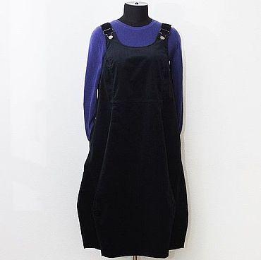Одежда ручной работы. Ярмарка Мастеров - ручная работа Сарафан Мэри, вельвет. Handmade.