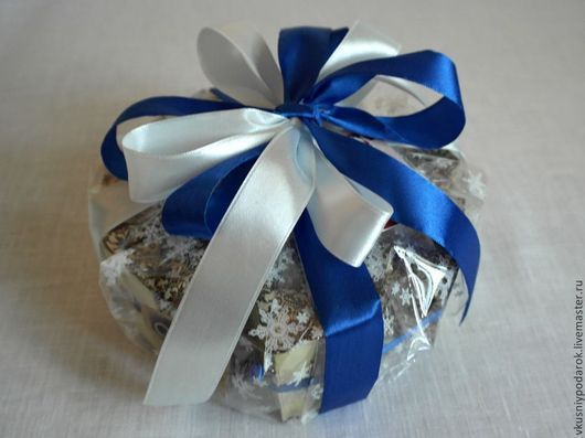"""Подарочные наборы ручной работы. Ярмарка Мастеров - ручная работа. Купить Торт """"Кофейный аромат"""". Handmade. Тёмно-синий"""