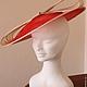 """Шляпы ручной работы. Заказать Вечерняя шляпка"""" Dolce Vita"""". Наталья Давыдова. Ярмарка Мастеров. Коктейльная шляпка, шляпа для скачек"""