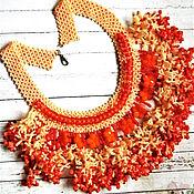 """Украшения ручной работы. Ярмарка Мастеров - ручная работа Колье """"Сочный Апельсин"""". Handmade."""