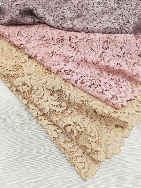 Шитье ручной работы. Ярмарка Мастеров - ручная работа. Купить 30% Кружевное полотно Италия КЖ-1228 Итальянская ткань. Handmade.