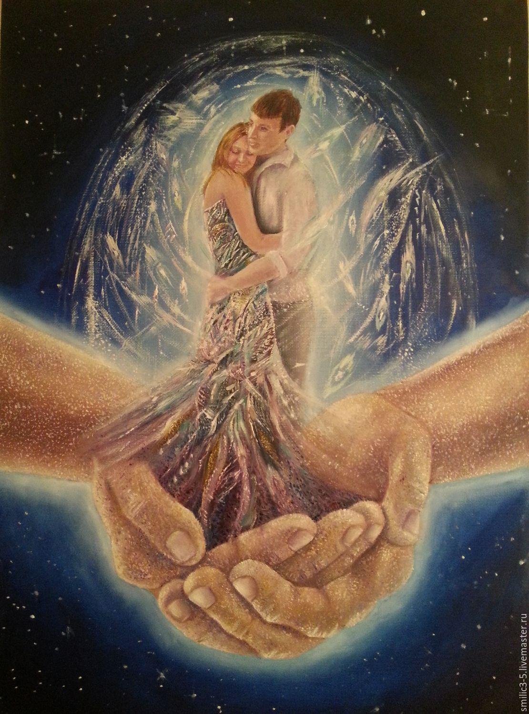 Символизм ручной работы. Ярмарка Мастеров - ручная работа. Купить В Его руках. Handmade. Любовь, влюбленные, руки, Молодоженам