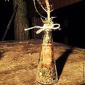 """Посуда ручной работы. Ярмарка Мастеров - ручная работа Декоративная бутылочка """"Botanic"""". Handmade."""
