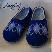 Обувь ручной работы. Ярмарка Мастеров - ручная работа Тапочки мужские. Handmade.