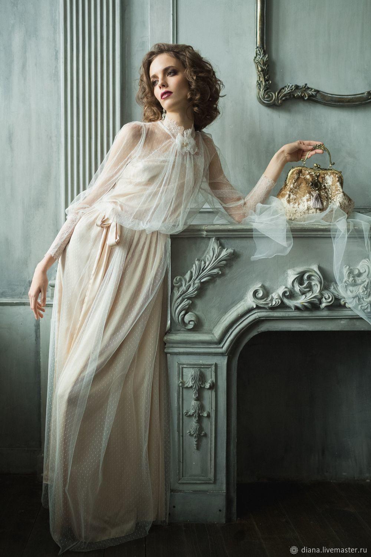 """Дизайнерское платье в стиле шебби шик """"Аристократка"""", Платья, Москва,  Фото №1"""