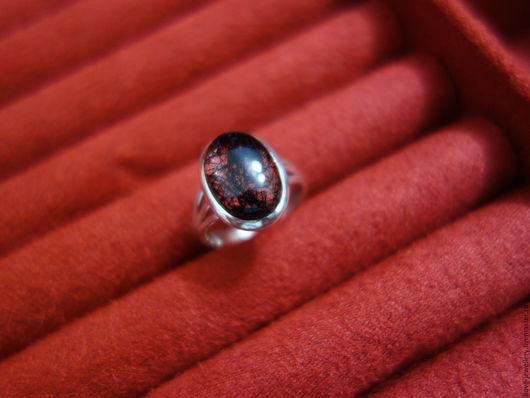 """Кольца ручной работы. Ярмарка Мастеров - ручная работа. Купить """"Romino""""-серебряное кольцо с турмалиновым кварцем. Handmade. Чёрно-белый"""