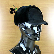 Аксессуары handmade. Livemaster - original item Designer men`s cap from ecomech.. Handmade.
