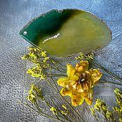 Украшения handmade. Livemaster - original item Barrette made of natural Agate Citrus. Handmade.
