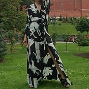 """Одежда ручной работы. Ярмарка Мастеров - ручная работа Платье """"Запах"""". Handmade."""
