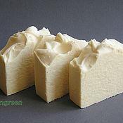 Косметика ручной работы. Ярмарка Мастеров - ручная работа Мыло на козьем молоке (натуральное мыло с нуля). Handmade.